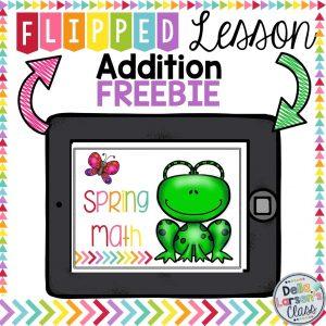 spring math-freebie-addition