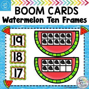 Teaching ten frames in math centers