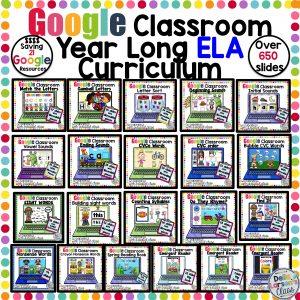 Google Classroom ELA Mega Bundle