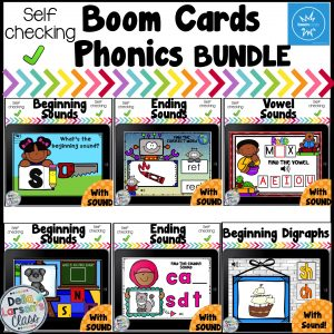 Boom Cards Phonics Bundle
