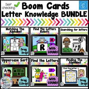 Boom Cards Letter Knowledge Bundle