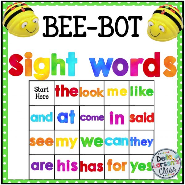 BeeBot TSight Words