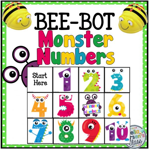 BeeBot Monster Numbers cover