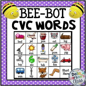 Reading CVC words with BeeBots