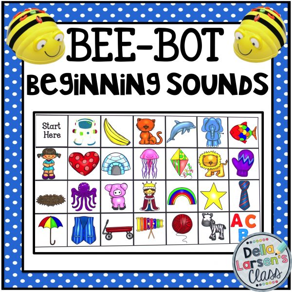 Beginning Sounds on A BeeBot mat