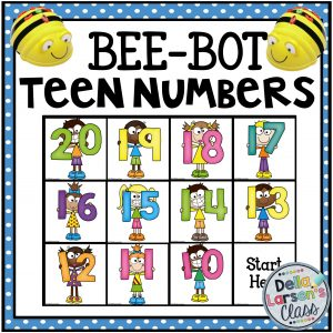 BeeBot Teen Numbers