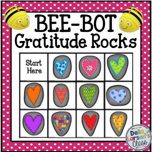 BeeBot Gratitude Rocks