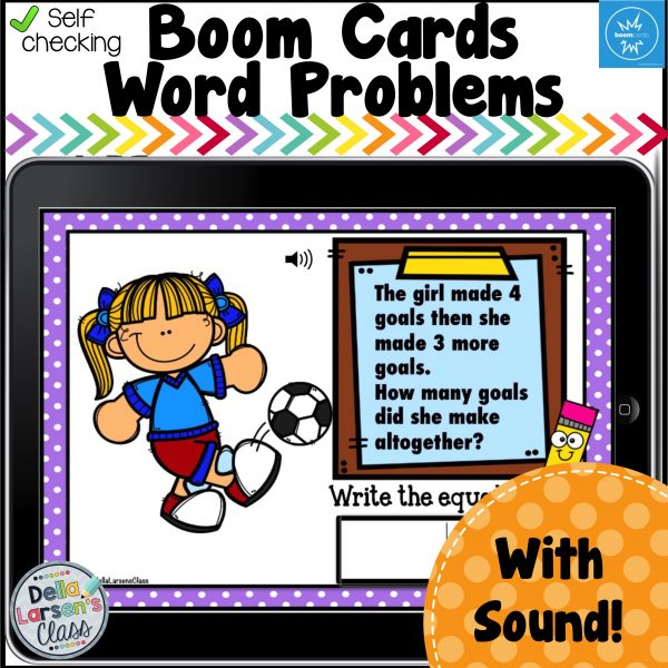 Boom Addition and subtraction word problems