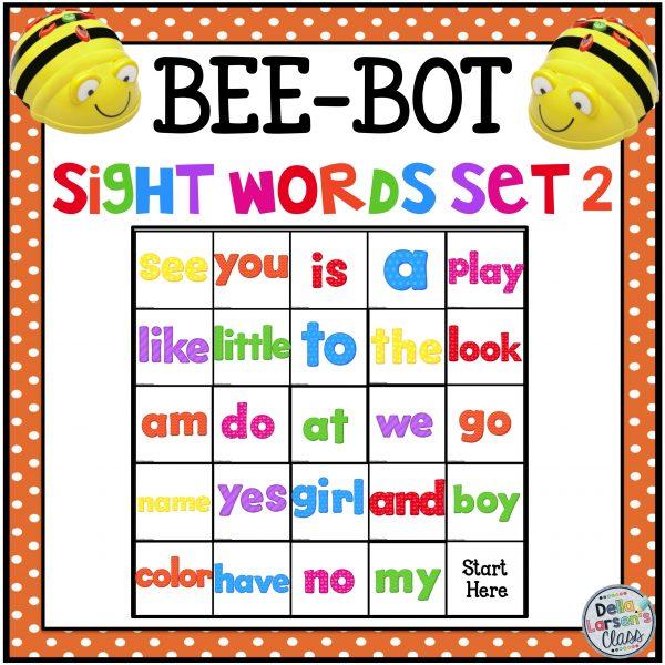 BeeBot sight words mat #2