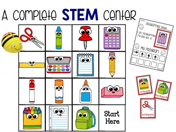 BeeBot school supplies complete STEM Center