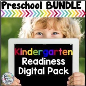 Boom Cards Kindergarten readiness