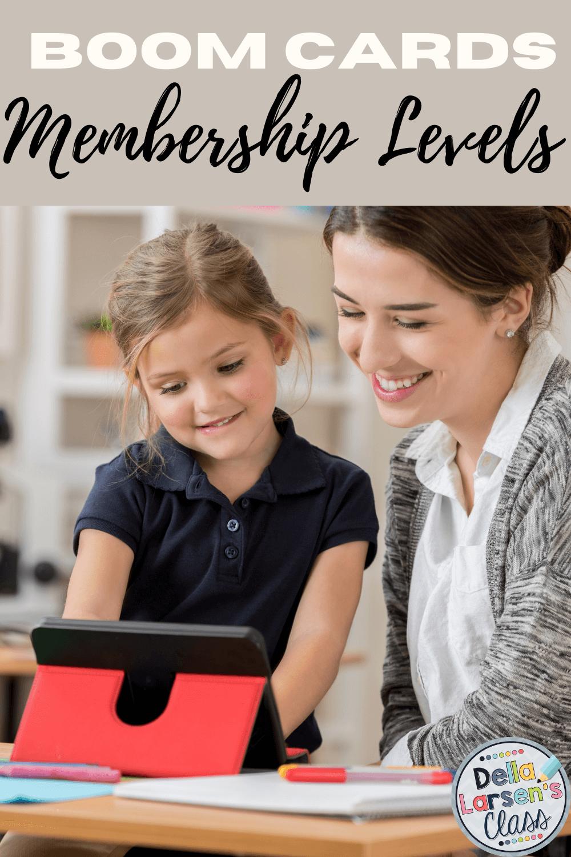 Boom Cards in kindergarten